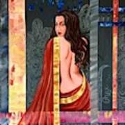 Abhisarika 2 Art Print