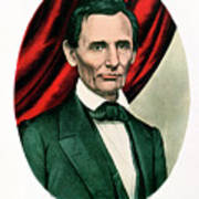 Abraham Lincoln 1809-65, C1865. Artist Art Print