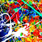 abstract composition K12 Art Print