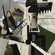 Abstract Image Of Charlie Art Print