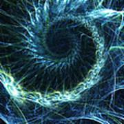 Abstract Swirl Pattern Art Print