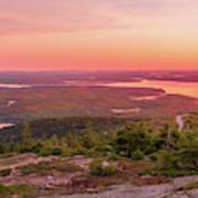 Acadia National Park Sunrise  Art Print