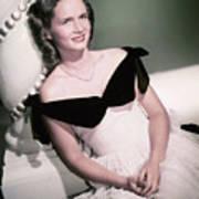 Actress Debbie Reynolds Art Print