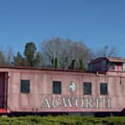 Acworth Ga Art Print