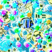 Adventures On Icon Reef Art Print