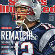 Afc Championship - Baltimore Ravens V New England Patriots Sports Illustrated Cover Art Print