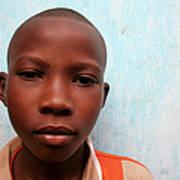African Boy Art Print