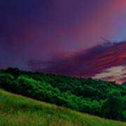 After The Storm Afterglow Art Print