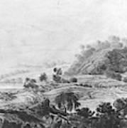 After The Tornado  Pavel Petrovich Svinin 1787 88-1839 Art Print