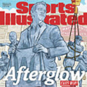 Afterglow Cubs Win Sinks In Sports Illustrated Cover Art Print