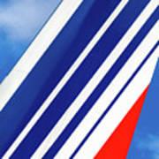 Air France 777 1 Art Print