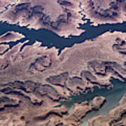 Air View Of The Colorado River Art Print
