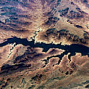 Air View Of The Grand Canyon Art Print