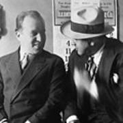 Al Capone And Benjamin Epstein Art Print