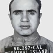 Al Capone Mugshot 1939 - T-shirt Art Print