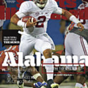 Alabama Why The Tide Will Win It, 2016 College Football Sports Illustrated Cover Art Print