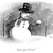 Alas, Poor Yorick Art Print