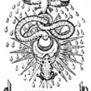 Alchemical Symbolism, 1652 Art Print