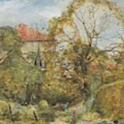 Alexander Fraser, The Younger, October's Workmanship To Rival May Art Print