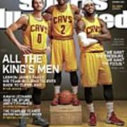 All The Kings Men 2014-15 Nba Basketball Preview Issue Sports Illustrated Cover Art Print