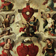 Allegory Of The Holy Eucharist Art Print