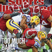 Allstate Bcs National Championship Game - Lsu V Alabama Sports Illustrated Cover Art Print
