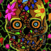 Alma, Sugarskull Art Print