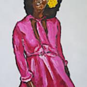 Amara Lanegra Art Print