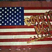 American Coyote Ugly Art Print