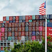 American Georgia Shipping Trade Art Print