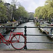 Amsterdam City Scene Art Print