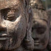 Angkor Warriors Art Print