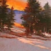 Another Winter Dawn Art Print