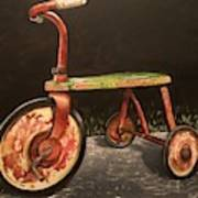 c8fbbc1ee43 Antique Tricycle Painting by Scott White