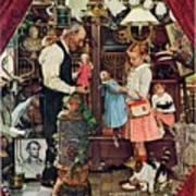 April Fool, 1948 Art Print