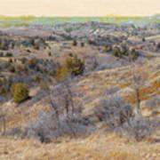 April Prairie Reverie Art Print