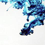 Aqua Art  1 Of  5 Art Print