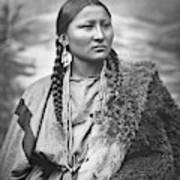 Arapahoe Woman Art Print