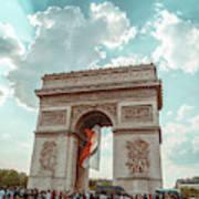 Arc De Triomphe - World Cup 2018 Art Print