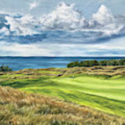 Arcadia Bluffs Art Print