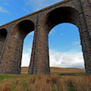 Arches And Piers Of The Ribblehead Viaduct North Yorkshire Art Print