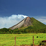 Arenal Volcano - Costa Rica Art Print