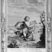 Arion Saved By A Dolphin, 1733. Artist Art Print