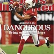 Arizona Cardinals Larry Fitzgerald, 2009 Nfc Wild Card Sports Illustrated Cover Art Print