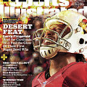 Arizona Cardinals Larry Fitzgerald, 2016 Nfl Football Sports Illustrated Cover Art Print
