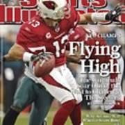 Arizona Cardinals Qb Kurt Warner, 2009 Nfc Championship Sports Illustrated Cover Art Print