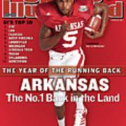 Arkansas Darren Mcfadden, 2007 College Football Preview Sports Illustrated Cover Art Print