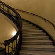 Arlington Spiral Stairs Art Print