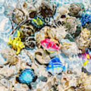 Artificial Aquarium  Art Print