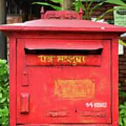 Asian Mail Box Art Print